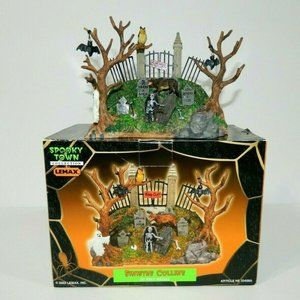 Lemax Town Spooky Knoll 33408A Halloween Display